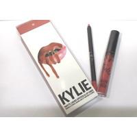 Матовый блеск для губ + карандаш Kylie Lipstick & Lip Liner 22