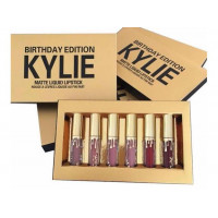 Набор жидкой матовой помады Kylie Birthday Edition
