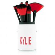 Профессиональный набор Кистей для макияжа Kylie в тубусе